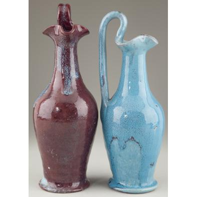 two-north-state-rebecca-pitchers-nc-pottery