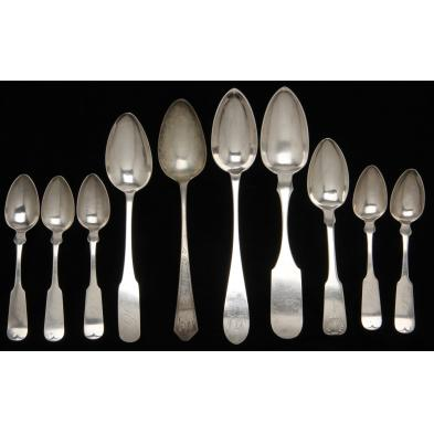 group-of-10-american-coin-silver-spoons