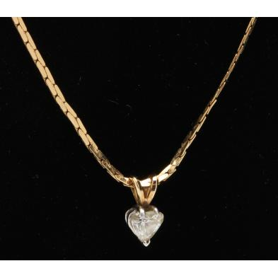 14kt-chain-necklace-with-diamond-pendant