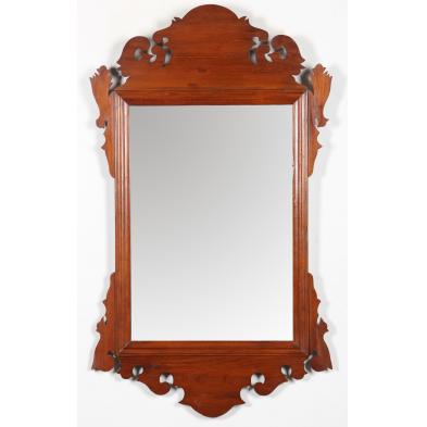 chippendale-style-mahogany-wall-mirror