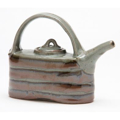 nc-art-pottery-fork-mountain-pottery-oblong-teapot