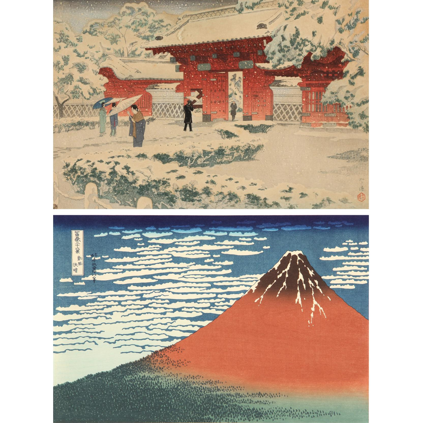 two-japanese-woodblocks-by-celebrated-artists