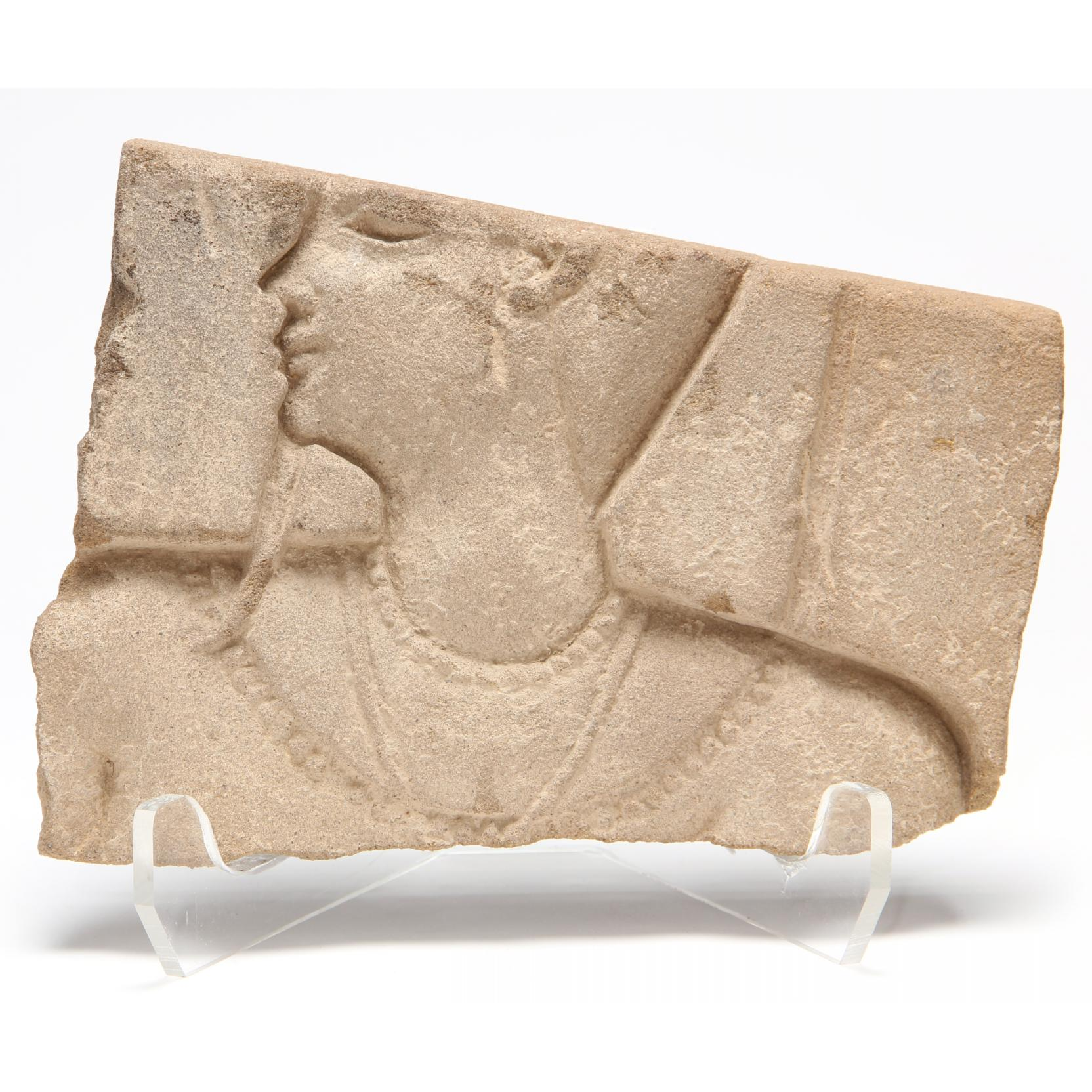 ancient-egyptian-red-sandstone-relief-fragment