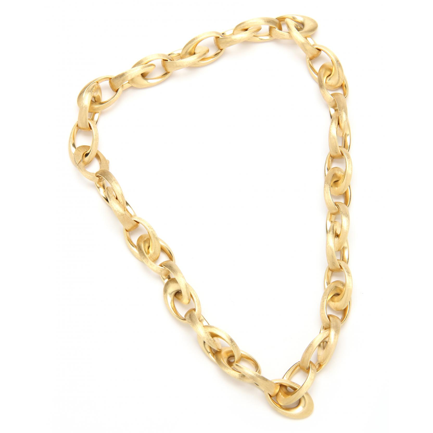 gold-link-necklace