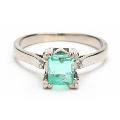 vintage-18kt-synthetic-emerald-ring