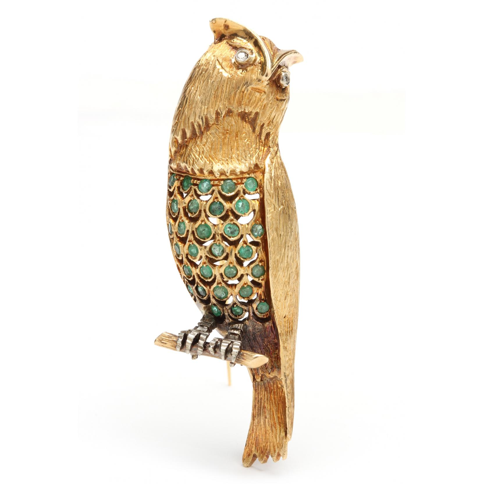 18kt-emerald-and-diamond-figural-brooch
