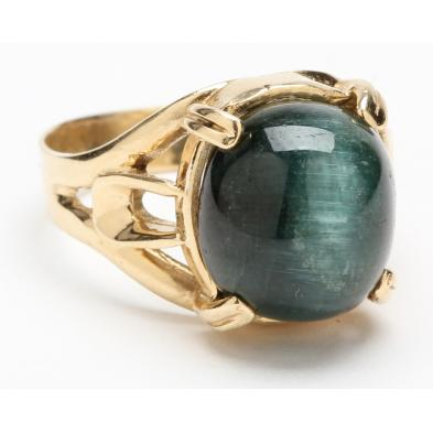 14kt-green-tourmaline-ring