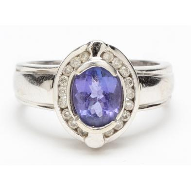 14kt-white-gold-tanzanite-and-diamond-ring