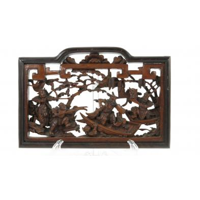 small-chinese-carved-wood-panel