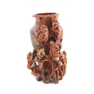 chinese-soapstone-carved-vase
