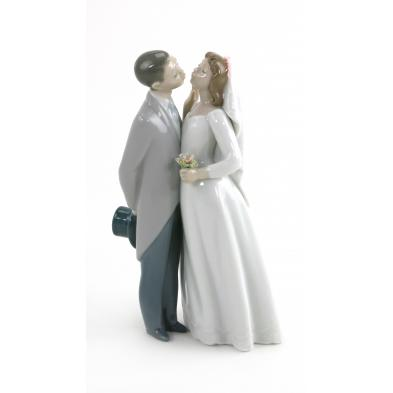 lladro-bride-and-groom-figural