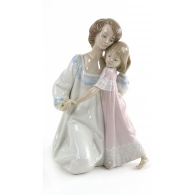 lladro-mother-and-daughter-figurine