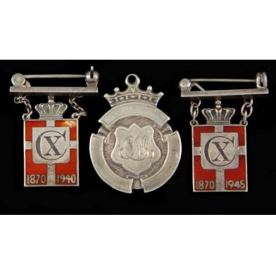 three-sterling-silver-commemorative-pins
