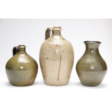 three-pieces-of-jugtown-pottery