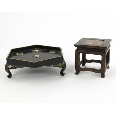 two-fine-chinese-wood-stands
