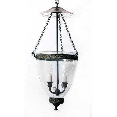 antique-smoke-bell-hanging-light