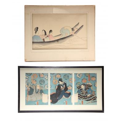 a-group-of-japanese-woodblock-prints