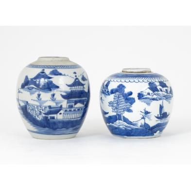 two-chinese-export-canton-jars