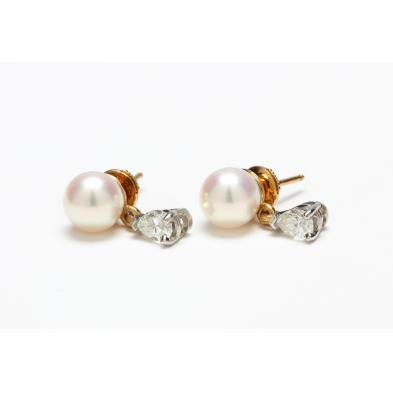 pearl-and-diamond-earrings