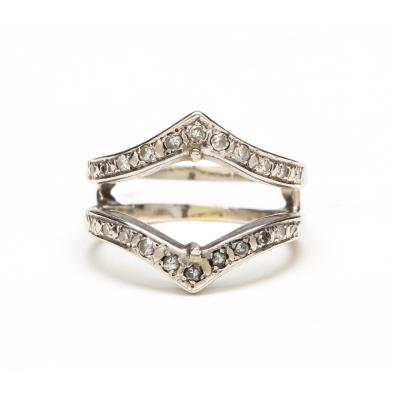 14kt-white-gold-and-diamond-ring-guard