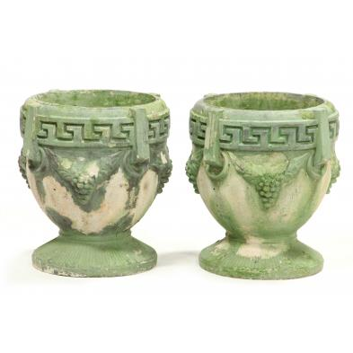 pair-of-cast-stone-grecian-garden-urns