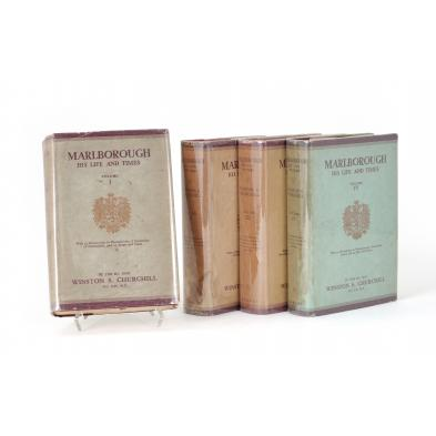 winston-s-churchill-i-marlborough-his-life-and-times-i-first-edition