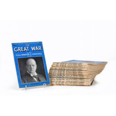 complete-serialized-set-of-i-the-great-war-i-by-winston-churchill