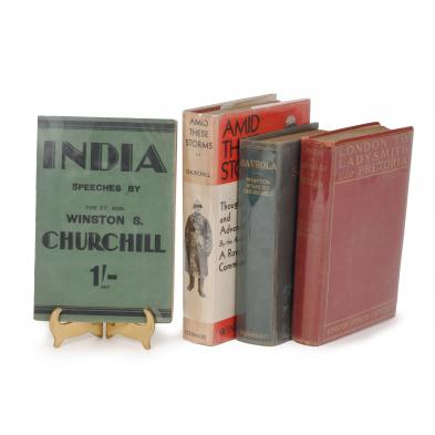 four-pre-war-titles-by-winston-s-churchill