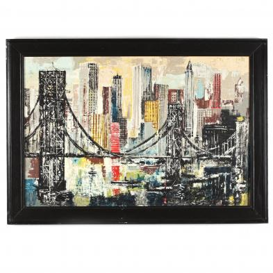 vibrant-mid-century-view-of-brooklyn-bridge
