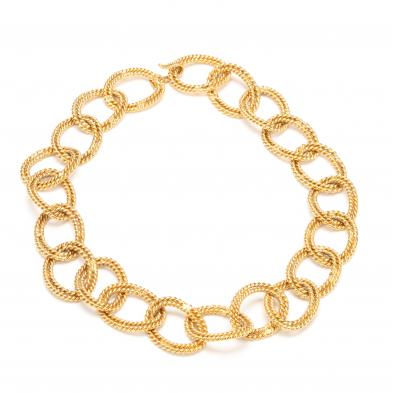 vintage-gold-tone-chain-link-necklace-chanel
