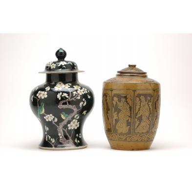 two-chinese-ceramic-covered-jars