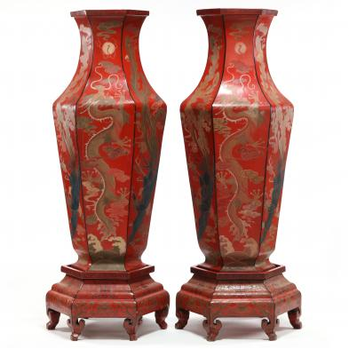 pair-of-large-red-lacquer-imperial-vases-with-stands