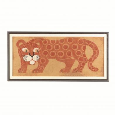 primitive-painted-textile-with-cheetah