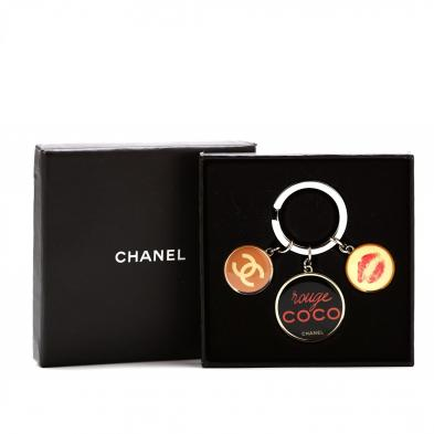 novelty-charm-key-ring-chanel