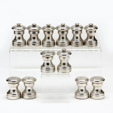 assembled-set-of-sterling-silver-salt-shakers-pepper-mills-tiffany-co-and-richard-dimes