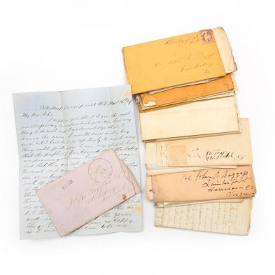 antebellum-virginia-archive-of-approximately-30-letters