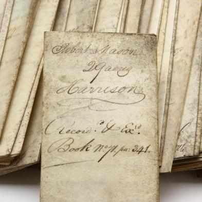 trove-of-43-vellum-deeds-signed-by-antebellum-virginia-governors