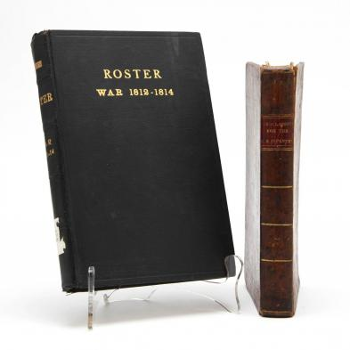 two-war-of-1812-books-a-period-infantry-manual-and-a-later-vermont-roster