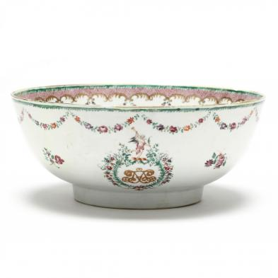 chinese-export-marriage-punch-bowl