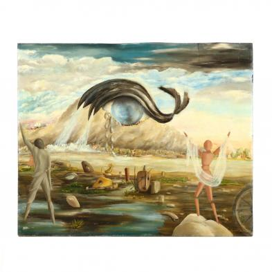 italian-school-surrealist-painting