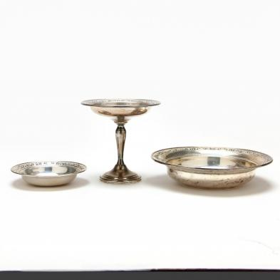 gorham-strasbourg-sterling-silver-three-piece-table-suite