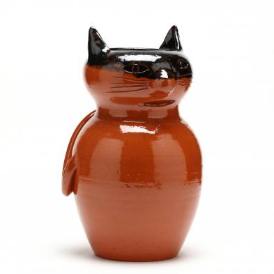 nc-folk-pottery-halloween-cat