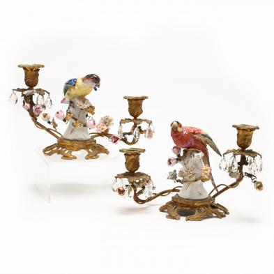 pair-of-antique-continental-porcelain-and-bronze-candelabra