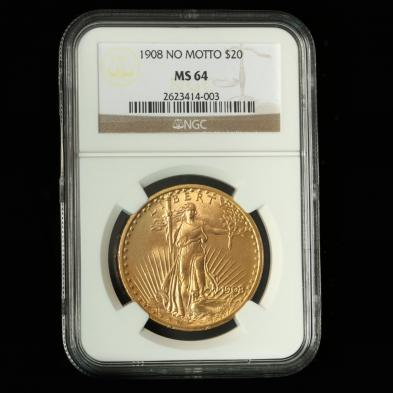 1908-no-motto-20-gold-st-gaudens-double-eagle