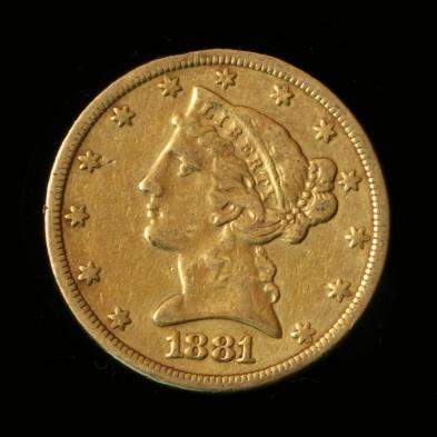1881-5-gold-liberty-head-half-eagle