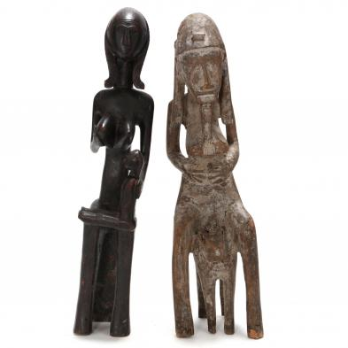 two-west-african-female-figures