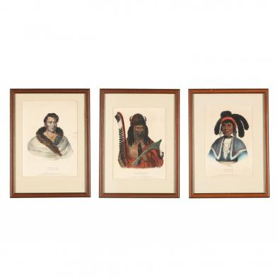 three-mckenney-hall-indian-lithographs