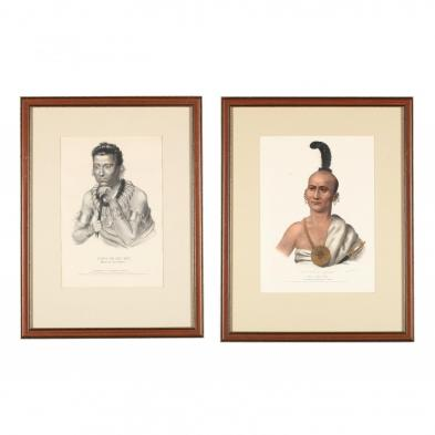 two-mckenney-hall-indian-lithographs