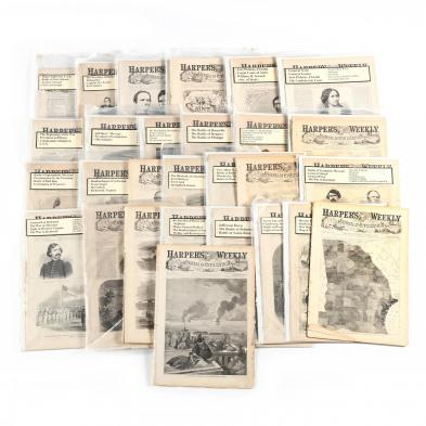 35-complete-1861-issues-of-i-harper-s-weekly-i