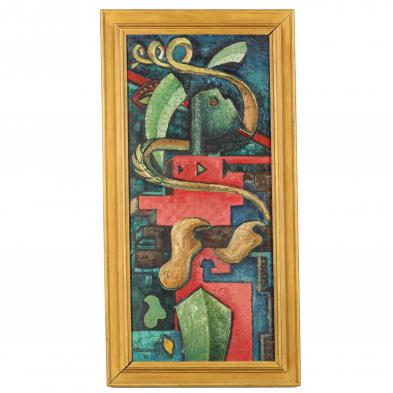 framed-cubist-painting